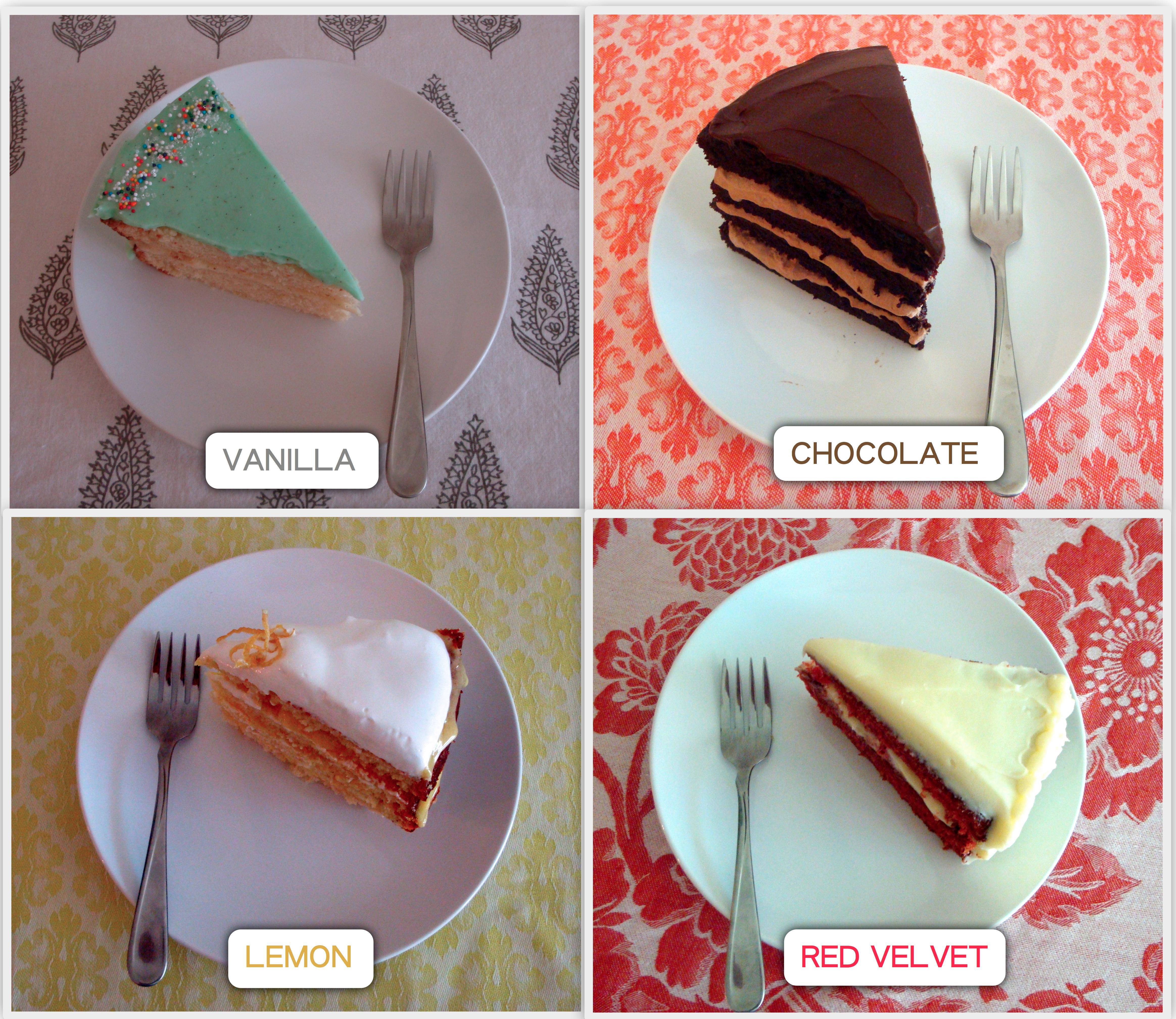 White Chocolate Flavour Cake